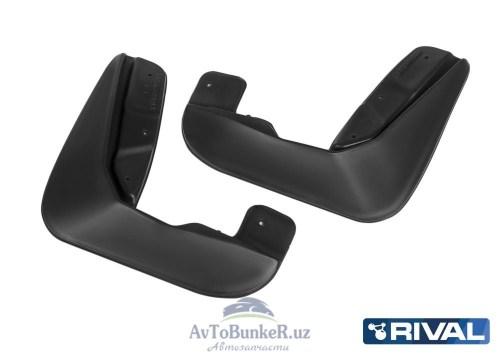 Комплект передних брызговиков, RIVAL, Lada Xray хэтчбек Cross 2015-