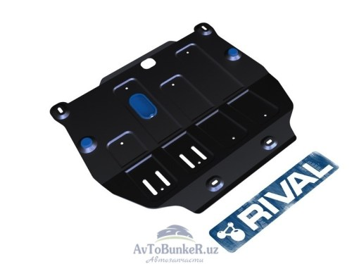 Защита картера и КПП Rival для 1,8 сталь Chevrolet Tracker 2013-