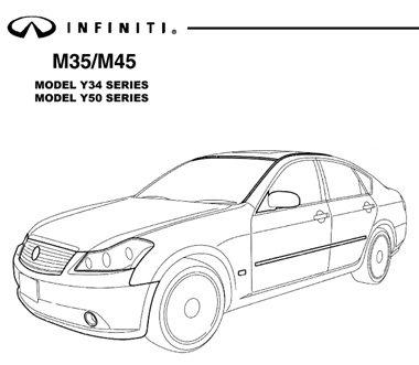 Infiniti M35-45 Y34 Y50 (2003-07). Service Manual