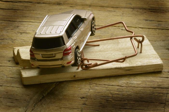 Мошенничество при покупке конфискованного авто