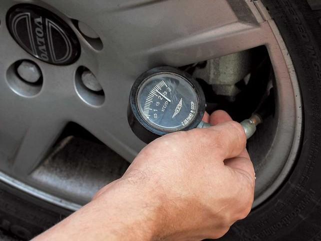 Давление в шинах авто