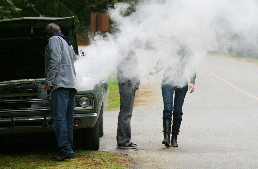 Отсутствие охлаждения двигателя