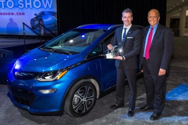 Лучшим авто года снова стал электромобиль