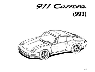 Скачать руководство Porsche 911 993 Carrera, ремонт