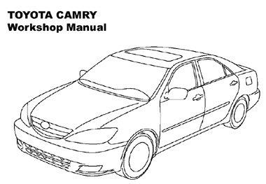 Скачать мануал Toyota Camry 2002-2006 (ремонт)