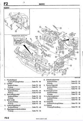 Скачать мануал по ремонту Mazda Xedos 6