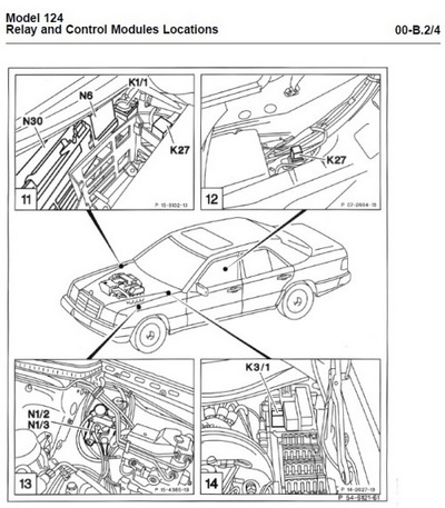 Сервисное руководство по ремонту и обслуживанию Mercedes