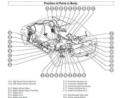 Скачать схемы электрооборудования Toyota Prius с 2003 г