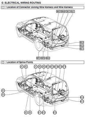 Скачать электрические схемы Toyota Land cruiser 2000