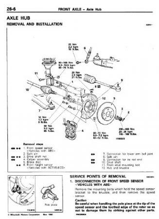 Скачать мануал Mitsubishi Sigma Diamante (ремонт)