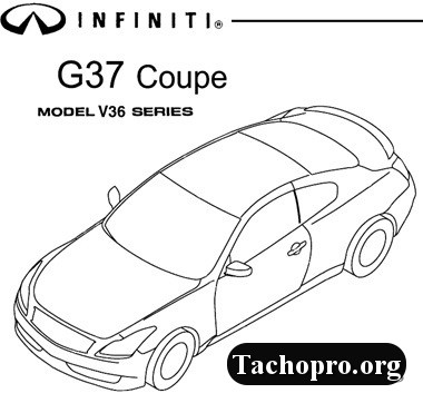 Infiniti FX35/FX45 Model S50 Series 2003-2008 Service