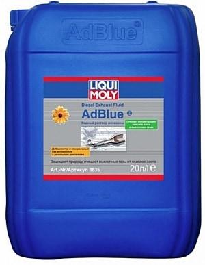 AdBlue Liquid.