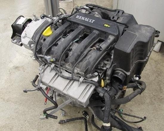 Renault Duster двигатель