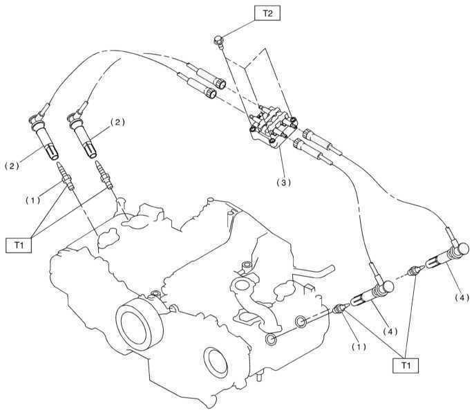 Ремонт Subaru Legacy Outback 1999-2003: система зажигания