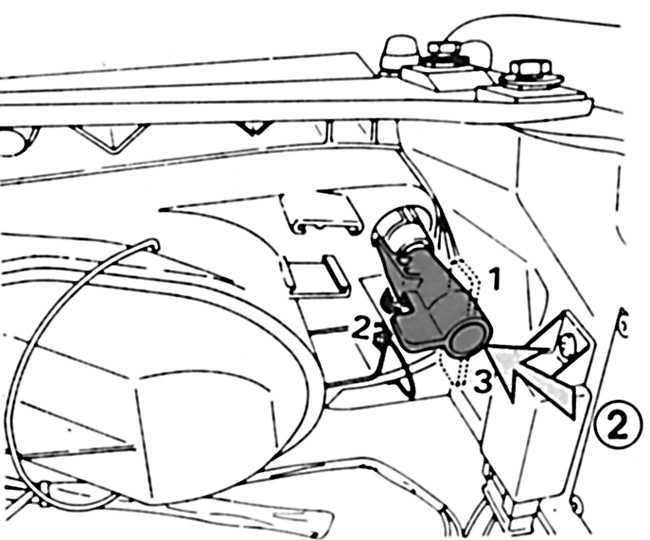 Ремонт Peugeot 405 1987-1997: корректор света фар