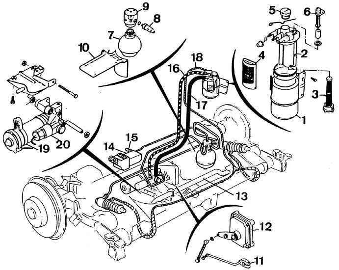 Ремонт Peugeot 405 1987-1997: удаление воздуха из