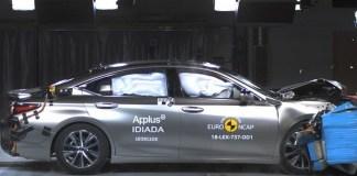 EuroNCAP разбил новый Lexus ES, Mercedes-Benz A-класса и еще три машины