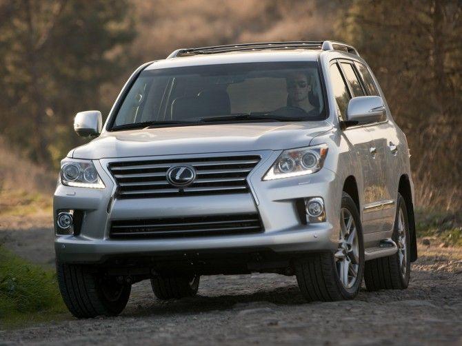 Более 80 тысяч внедорожников Lexus LX 570 и Toyota LC 200 попали под отзыв в России