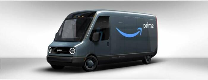 Электрофургоны для службы доставки Amazon?