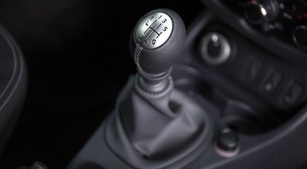 Фото рычага КПП кроссовера Renault Duster.
