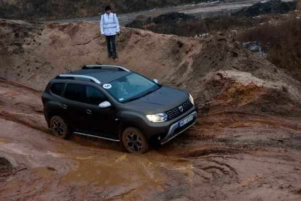 Кроссовер Dacia Duster второго поколения.