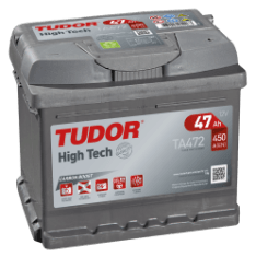TUDOR High Tech 47Ah 450A R+ ТA472