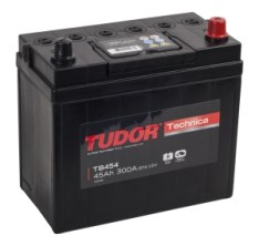 TUDOR Technica 45Ah 300A J R+ TB 456