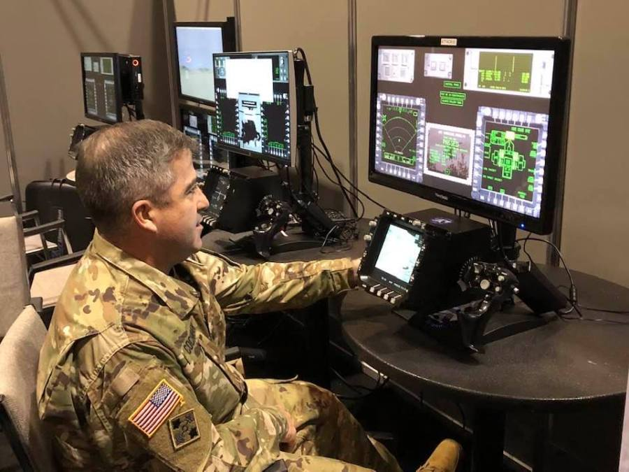 The Apache Gunnery Trainer (AGT) AVT Simulation at I/ITSEC 2019