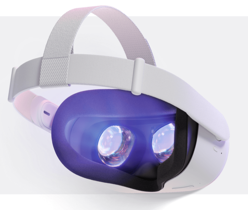All-in-one Virtual Reality (VR) System, Oculus Quest 2; Back