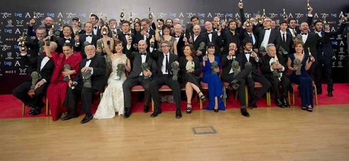 Premios-Goya-2014-©-Alberto-Ortega---Photocall-Foto-Familia-Premiados