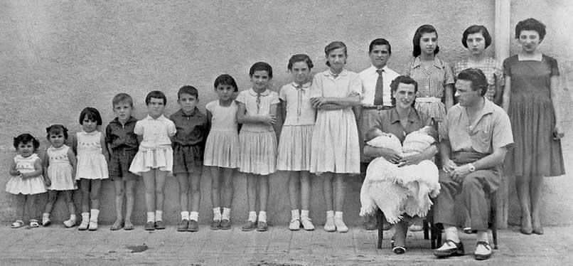 Familia numerosa - Avuelapluma