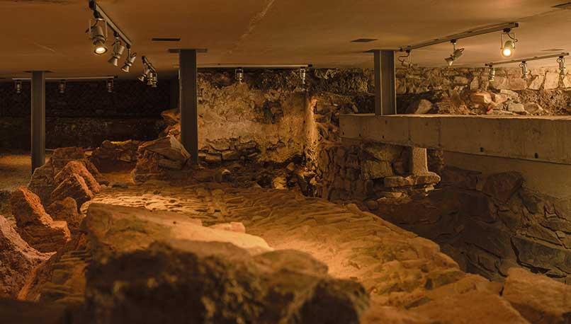 """La excavación del Mayoralgo, """"importante huella  de la historia"""" que se hace visible para todos"""
