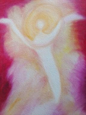 """Nieuw werkje. Titel: """"Happiness"""". Datum 03-09-2016. Tijd close: 18:00 uur. 48 X 36 CM. Oliepastelkrijt en acryl. Thema: Een diep verliefd gevoel, alleen nog maar in liefde kunnen zijn. Gemaakt door © Madeleine Oppelaar.Verboden te kopiëren zonder toestemming. Hiervoor dank! Met vriendelijke hart en groet, Madeleine."""