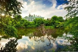 Вид на монастырь с пруда. Фото elektraua.info