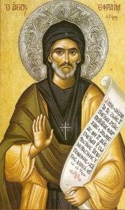 Преподобный Ефрем Сирин. Молитва Ефрема Сирина