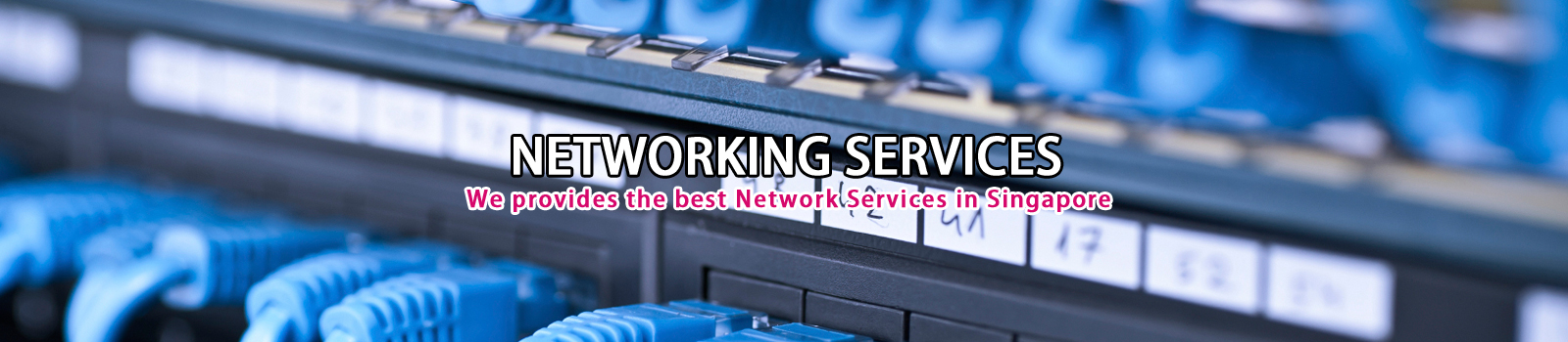 Network cabling Services Networking services