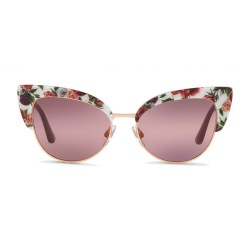 e7bd57efdeb4 Dolce   Gabbana Cat Eye Sunglasses In Floral Print Acetate
