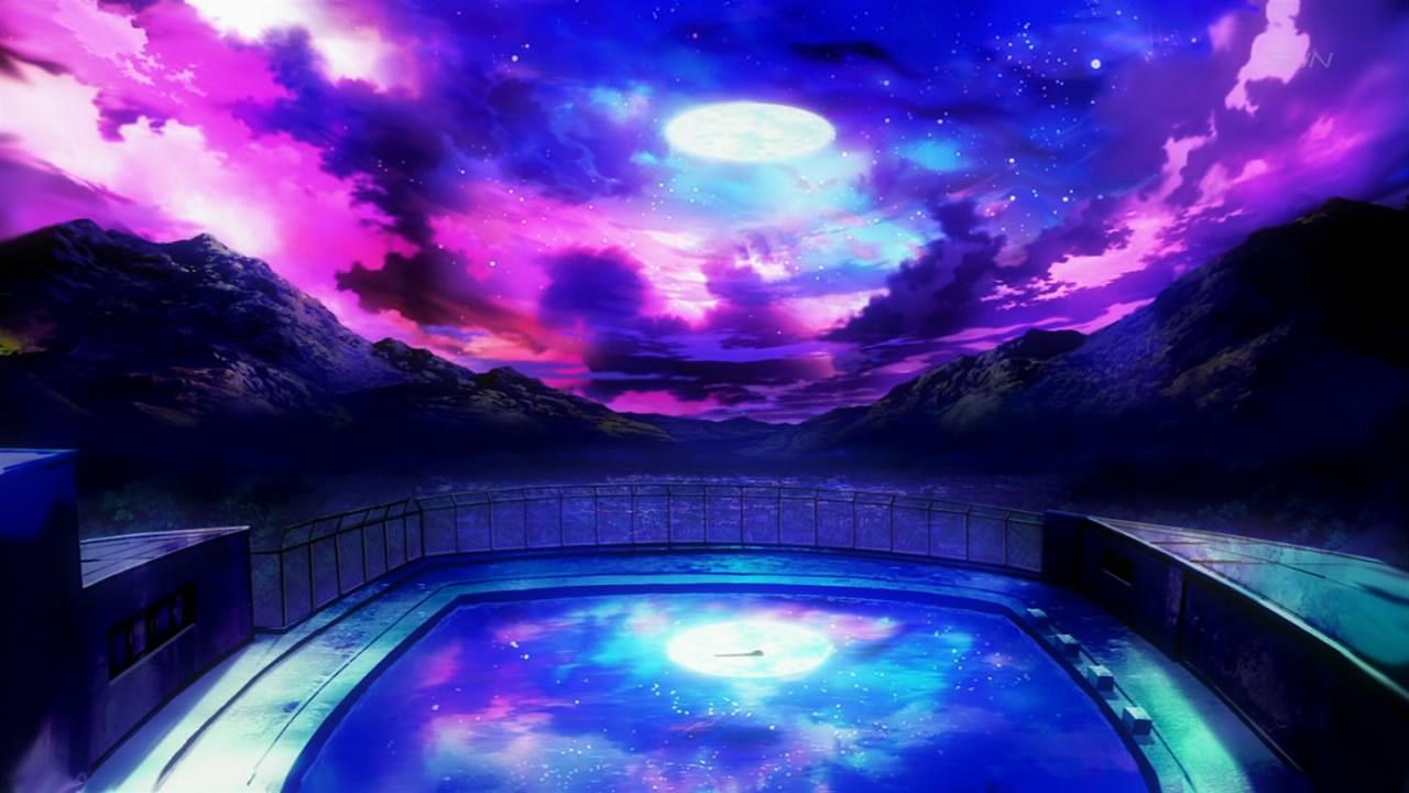 Beautiful Colorful Girls Anime Sakura Wallpaper School Pool Forums Myanimelist Net