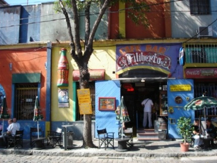 Scenes in La Boca