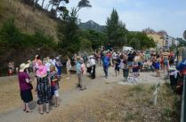 100 persones al Rec Comtal