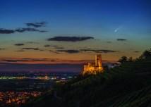 AVVP Kalender 2021 – Komet Neowise bei Schriessheim