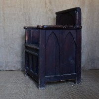 19thC Gothic Hall Chair