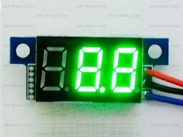Voltmeter With Display And Keyboard In My Circuit The Refresh Rate Is