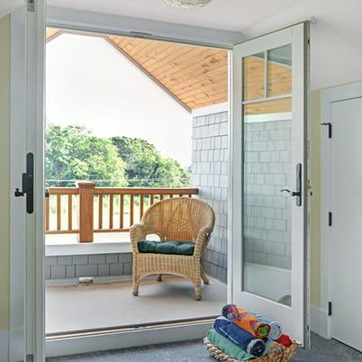 400 series frenchwood hinged patio door