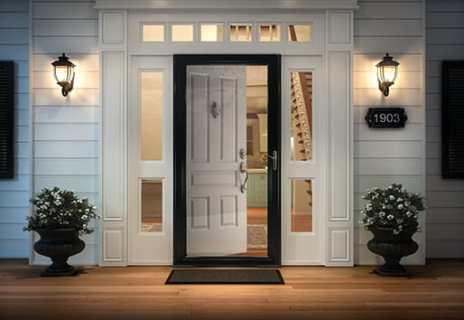 find your perfect storm door