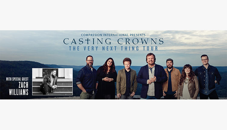 UPDATE:  Volunteers Needed - Casting Crowns Fall Tour