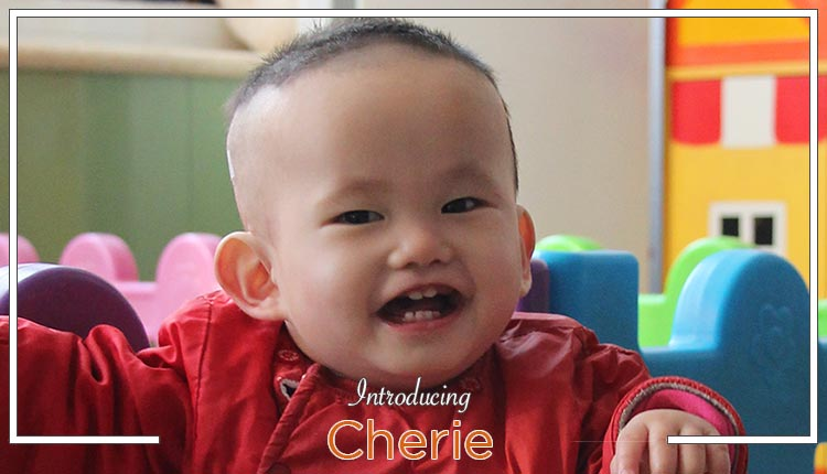"To Be Matched:  Meet ""Cherie"" From China!"