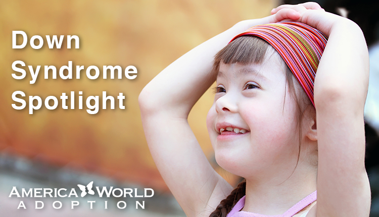 "Down Syndrome Spotlight:  ""Amy"" from India Needs a Family"