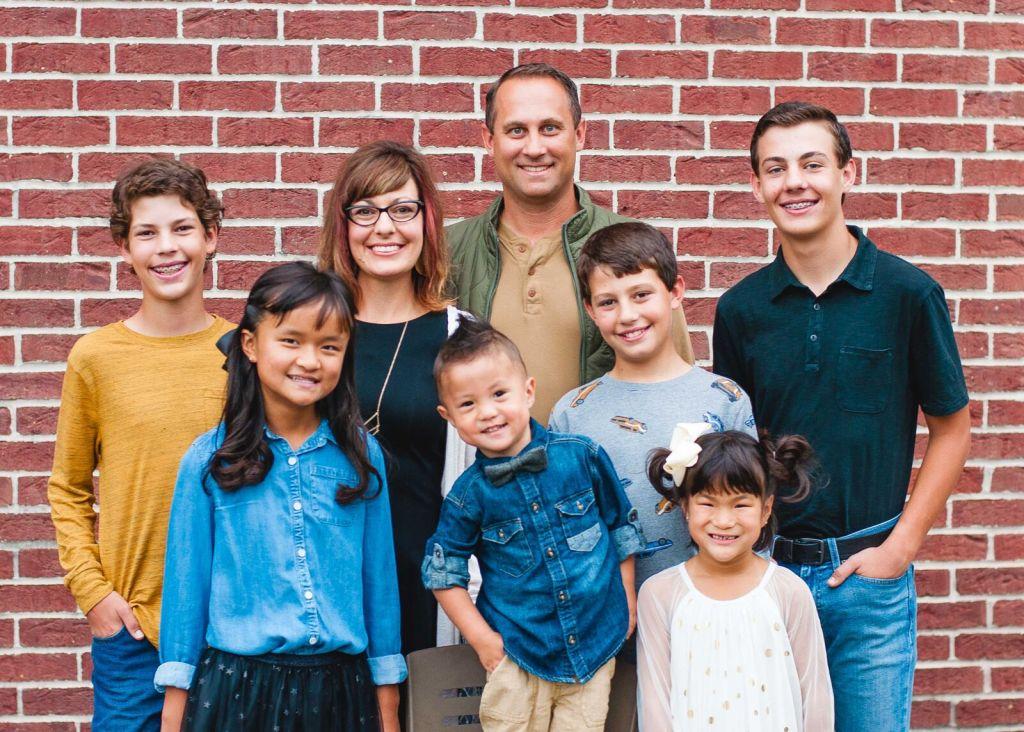 Leggio Family: Celebrating six months home!