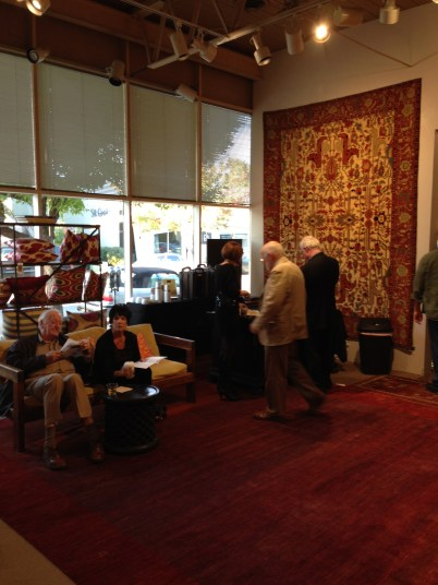Center Gallery Becomes Lobby with Refreshments
